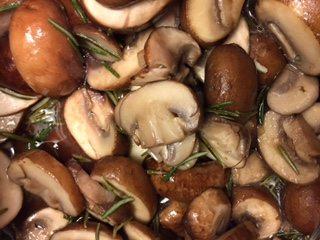 rozemarijn-champignons
