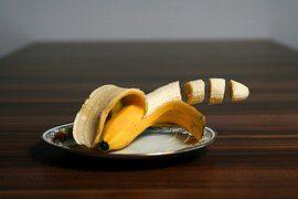 Smoothie met banaan en appel