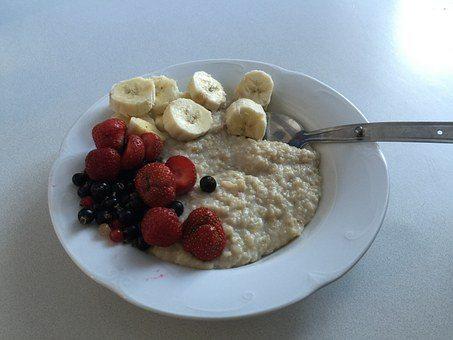 Ontbijt met vlokken