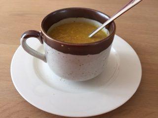 Kokos-Kerrie-Mais soep